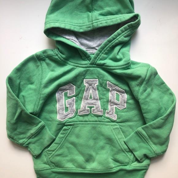Kids 5/$20🌟 Green Gap hoodie